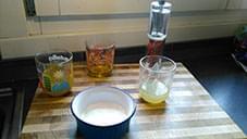 Bocconcini Rana pescatrice con salsa al limone