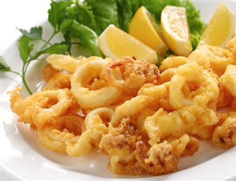 Calamari fritti: La ricetta!