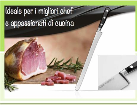 Coltelleria forgiata professionale