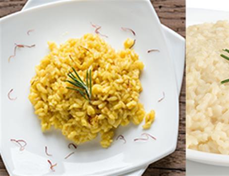 risotto alla milanese o risotti al prosecco? Qual'è il tuo preferito?